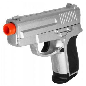 ZM Airsoft Pistol 1 ZM zm01 Silver Spring Airsoft Pistol Pocket Compact fps-205(Airsoft Gun)