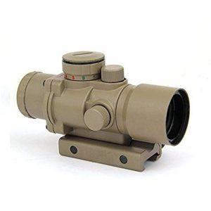 GOTICAL Rifle Scope 1 GOTICAL 3X30 Tri-Illuminated Ultra Compact Prism Riflescope Rifle Scope