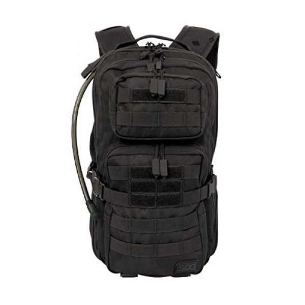 SOG Specialty Knives Tactical Backpack 2 SOG Opcon Hydration Day Pack with 2-Liter Reservoir, 18.2-Liter Storage