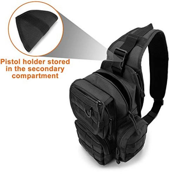 G4Free Tactical Backpack 4 G4Free Tactical Sling Backpack for Every Day Carry