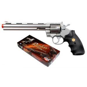 UHC Airsoft Pistol 1 941 UHC 8 inch revolver, Silver airsoft gun