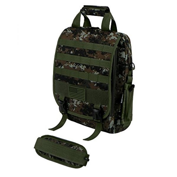 East West U.S.A Tactical Backpack 2 East West U.S.A RTC510 Tactical Molle Camouflage Laptop Sling Bag