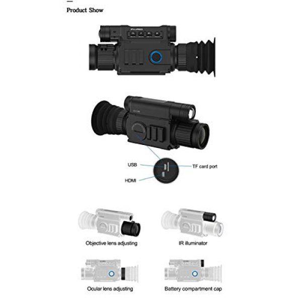 DJym Rifle Scope 4 DJym Infrared Night Vision, Thermal Imaging Night Vision Digital Video Patrol Hunting