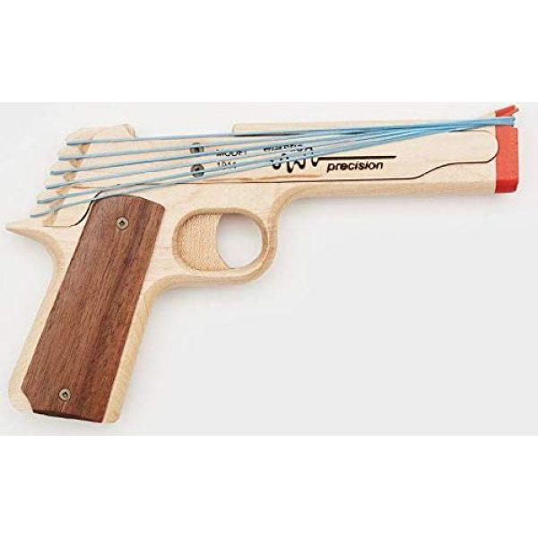 Elastic Precision Rubber Band Pistol 1911 Model 2 Elastic Precision Model 1911 Rubber Band Gun