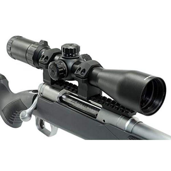 Leapers Rifle Scope 7 Leapers UTG Classic 3-12X44mm RifleScope, Tube 30mm, SFP, Mil-dot, Black, SCP3-3124EAOW