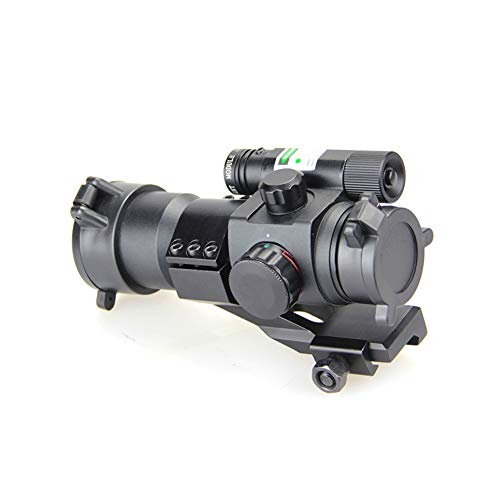 DJym Rifle Scope 6 DJym Blue Film Inside Red Dot Sight, High-Definition Red Dot Fast Sight Waterproofing Anti-Fog Seismic Gift-Level Sight