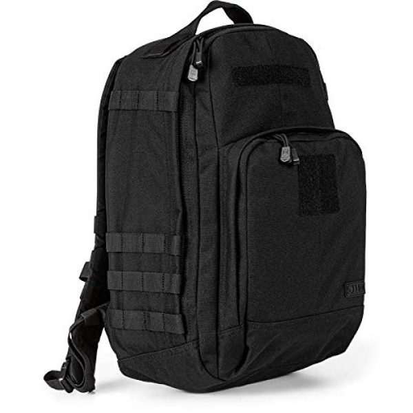 5.11 Tactical Backpack 3 5.11 Tactical TAC Essential Backpack, 25 Liters, 1050D Nylon, Style 56643