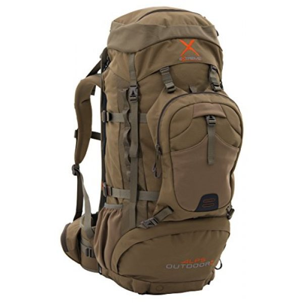 ALPS OutdoorZ Tactical Backpack 1 ALPS OutdoorZ Extreme Commander X + Pack