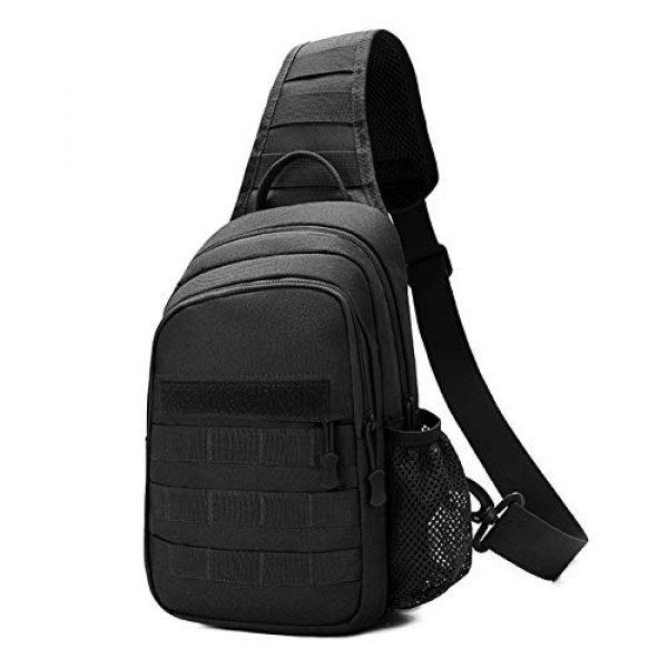 TEGOOL Tactical Backpack 1 Tactical Sling Bag,Chest Shoulder Small Backpack,Casual Satchel Day Pack