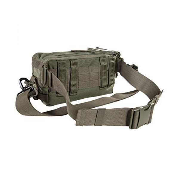 Tasmanian Tiger Tactical Backpack 2 Tasmanian Tiger Small Medic Pack Mk II, Tactical Small MOLLE Medical Bag, First Aid Storage, YKK Zippers