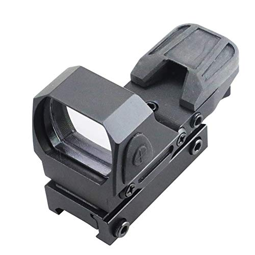 DJym Rifle Scope 5 DJym Button Red Dot Sight, Shockproof Stable Rifle Scope Suitable for Hunting Games