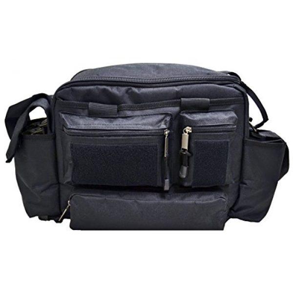 Explorer Tactical Backpack 3 Explorer Tactical Range Bag Bail Out Bag Police Gear Bag Patrol Bag Hunting Shooting Bag, Black