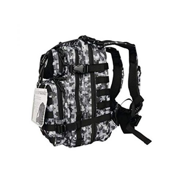 G.P.S. Tactical Backpack 2 G.P.S. Tactical Range Backpack, Gray Digital