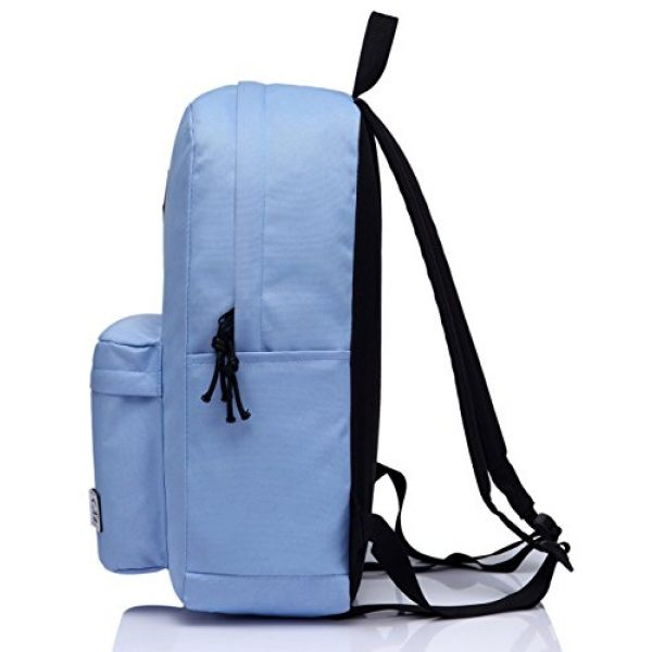 VASCHY Tactical Backpack 5 Lightweight Backpack for School, VASCHY Classic Basic Water Resistant Casual Daypack for Travel with Bottle Side Pockets