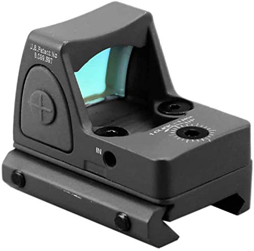 TTHU Rifle Scope 3 TTHU Red Dot Sight Scope Optical Micro Reflex Sight Rifle Scope Fit 20Mm Weaver Rail for Hunting Scopes