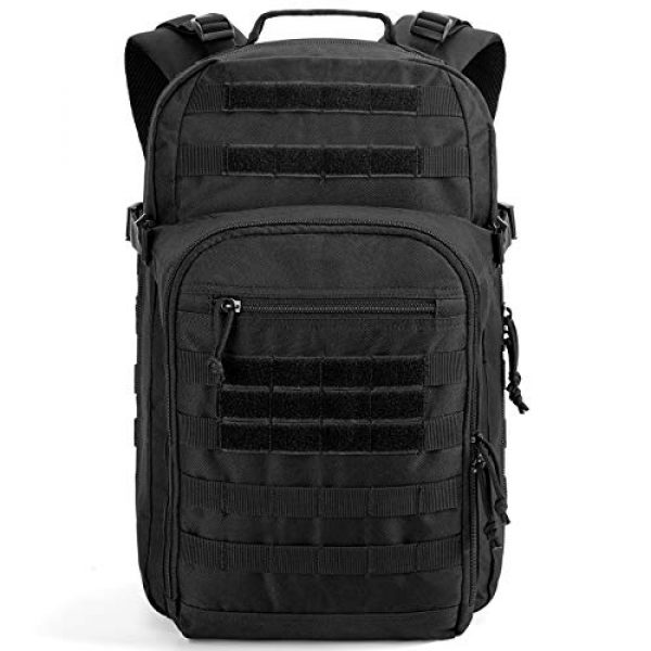 Gelindo Tactical Backpack 1 Gelindo Military Tactical Backpack Large 3 Day Assault Pack Molle Amry Bag Bug-out Rucksack Backpacks Survival Functional Daypack for Outdoor Hiking Camping Hunting Trekking Schooling for Men 42L