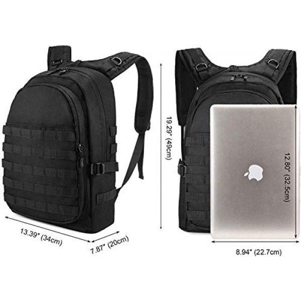 Huntvp Tactical Backpack 2 Huntvp PUBG Backpack Tactical Backpack Laptop Military College Bag Level 3