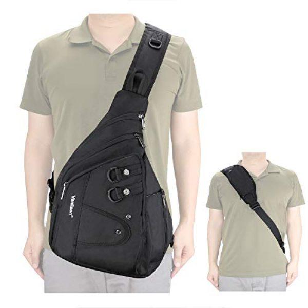 Vanlison Tactical Backpack 2 Vanlison Large Sling Bag Chest Shoulder Bag Purse Backpack Crossbody Bags for Men Women