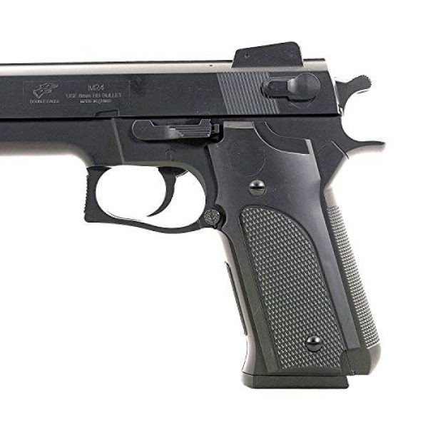 Double Eagle Airsoft Pistol 4 Double Eagle M24 Airsoft Spring Pistol - Powerful 300 FPS Spring Action Airsoft Gun Great Entry Level Airsoft Gun for Fun Fast Clean Inexpensive and Easily maintained