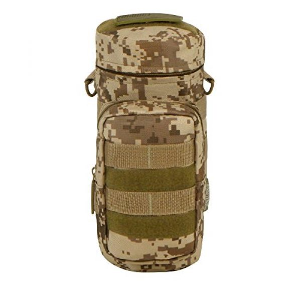 East West U.S.A Tactical Backpack 1 East West U.S.A RTC521 Tactical Water Bottle Pouch Military Molle Pack Gear Waist Back Pack