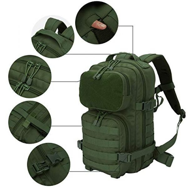 YoKelly Tactical Backpack 2 YoKelly Tactical Backpack Military Army Molle Backpack for Trekking