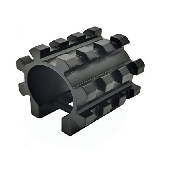 DJym Rifle Scope Accessory 3 DJym Solid Five-Sided Rail Pipe Shape Sight Rail Scope Accessories