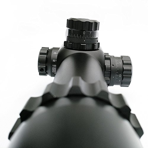 SECOZOOM Rifle Scope 7 SECOZOOM 35mm Dia. Single Aluminum Alloy Long Eye Relief 10-40X56 Best Long Range Gun Sights Scopes for 308.338.50BMG Target and Competition Shooters