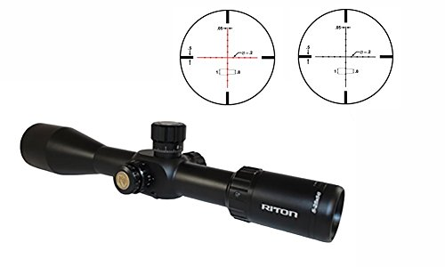 Riton Rifle Scope 2 Riton RT-S MRAD 7 5-25x56IR Riflescope, Black
