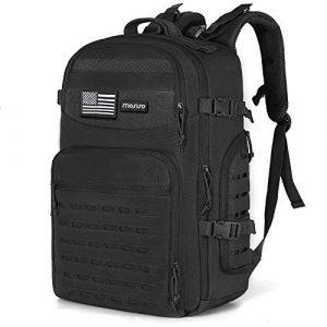 MOSISO Tactical Backpack 1 MOSISO Tactical Backpack, 3 Day Molle Rucksack Hiking Daypack Men Shoulder Bag