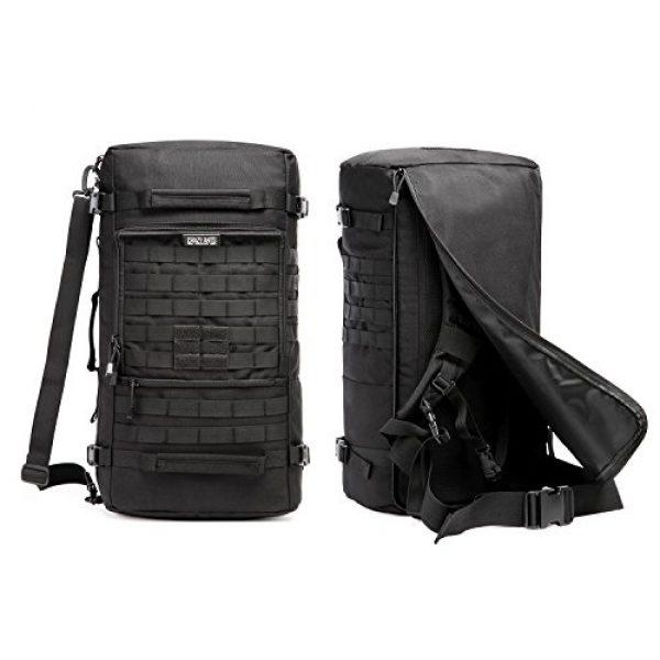 CRAZY ANTS Tactical Backpack 4 CRAZY ANTS Military Tactical Backpack Hiking Camping Shoulder Bag Upgraded Version