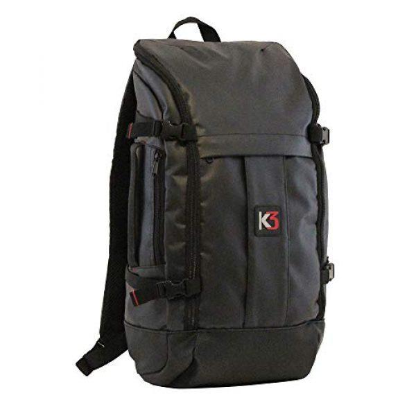K3 Tactical Backpack 1 K3 Alpha 24 Liter Weatherproof Water Resistant Backpack