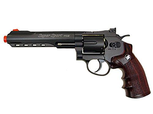 WG Airsoft Pistol 1 WG model-702b 6 revolver full metal co2 nbb included 6 revolver holster-nylon(Airsoft Gun)