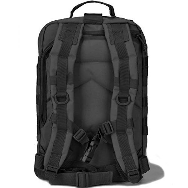 BOW-TAC Tactical Backpack 6 BOW-TAC Military Tactical Backpack Small Assault Pack Army Molle Bag Backpacks