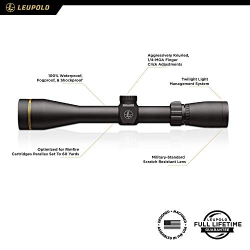 Leupold Rifle Scope 2 Leupold VX-Freedom Rimfire Riflescope
