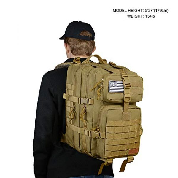 SunsionPro Tactical Backpack 7 SunsionPro Military Backpack for Tactical Hunting Trekking or Outdoor Daily use 43L
