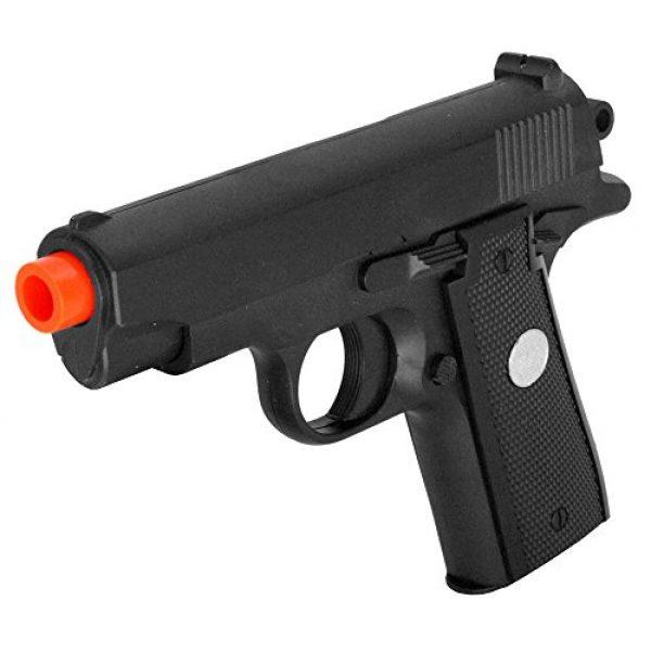GALAXY Airsoft Pistol 6 GALAXY G2 Officer Metal Spring Compact Airsoft Pistol Hand Gun w/ 6mm BB BBS
