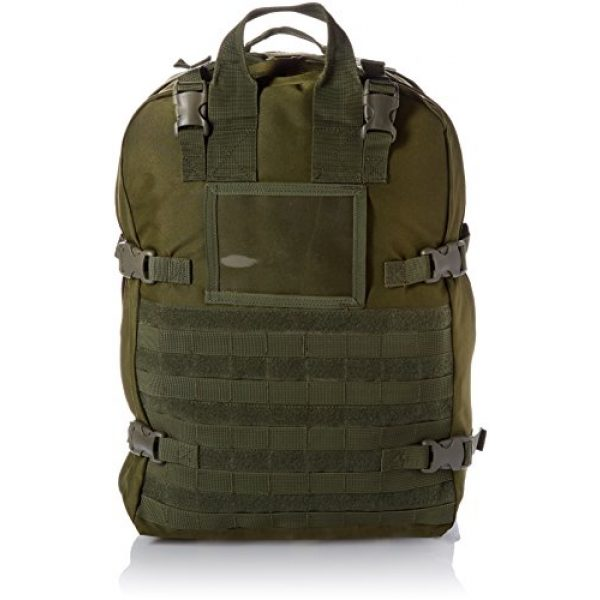 Stomp Medical Kit Tactical Backpack 1 Stomp Medical Kit Fully Stocked First Aid Backpack, OD Green