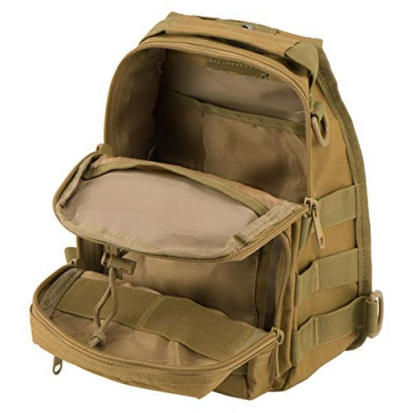 Luckin Packin Tactical Backpack 6 Luckin Packin Tactical Sling Bag,Military Rover Shoulder Sling Backpack,Tactical Sling Pack