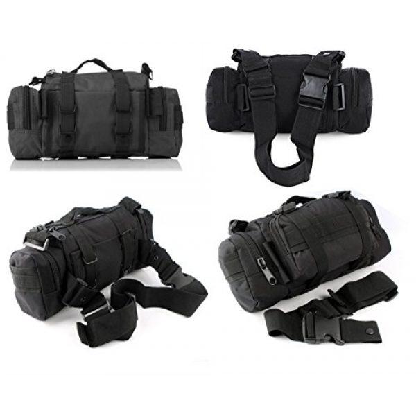DOUN Tactical Backpack 3 DOUN Tactical Waist Bag Military Versatile Tactical Deployment Bag Hand Carry Bag Molle Waist Pack Camera Bags