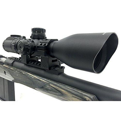 UTG Rifle Scope 3 UTG 4-16X44 30mm Compact Scope, AO, 36-color Glass Mil-dot