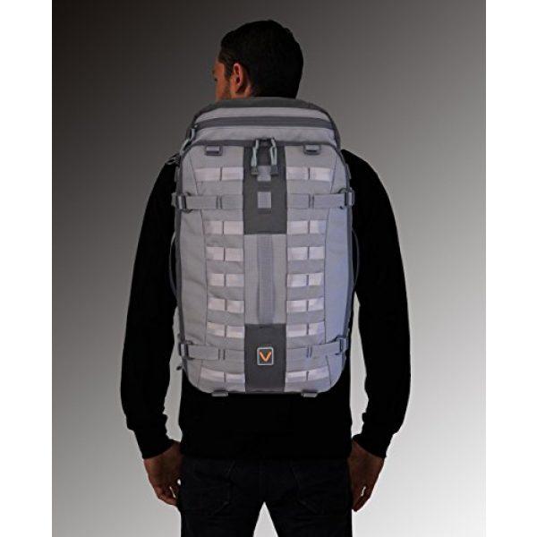 VITAL GEAR Tactical Backpack 6 VITAL GEAR Air Rover Modular Adventure Travel Backpack, Black, Medium/40mm