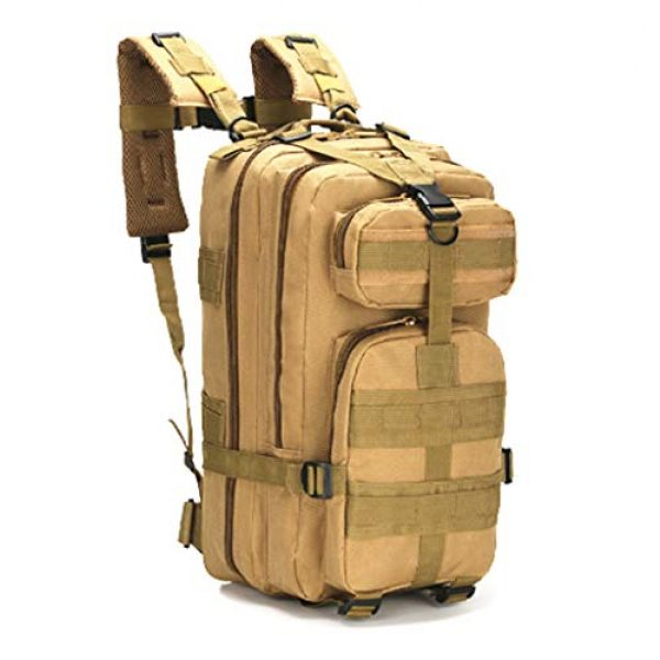 Jipemtra Tactical Backpack 1 Jipemtra Tactical First Aid Bag MOLLE EMT IFAK Backpack Trauma First Aid Responder Medical Backpack Utility Bag Military Tactical Rucksack Emergency