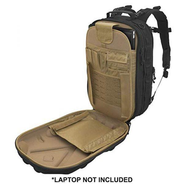 HAZARD 4 Tactical Backpack 4 Hazard 4 Pillbox(TM) Hard-Shell Optics/CCW Pack - Black