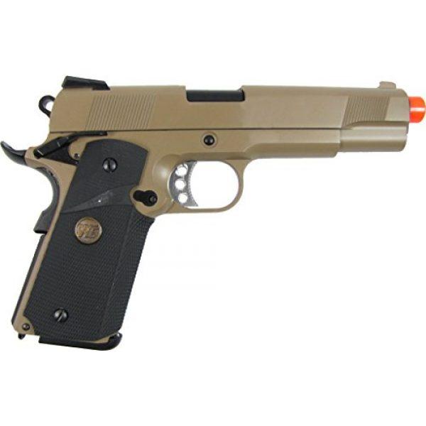 WE Airsoft Pistol 2 WE meu 191 gas blowback full metal - tan(Airsoft Gun)