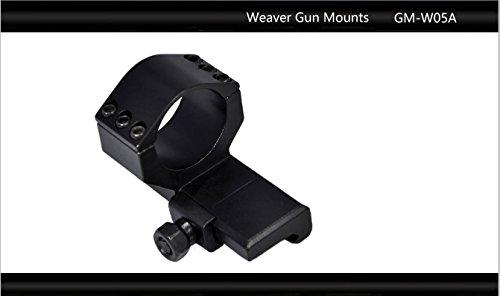 "Tactical Scorpion Gear Rifle Scope 4 Tactical Scorpion Gear TSG-GMW05A Cantilever Picatinny Weaver Scope Flashlight Mount 26mm 1 1/8"" - Black"