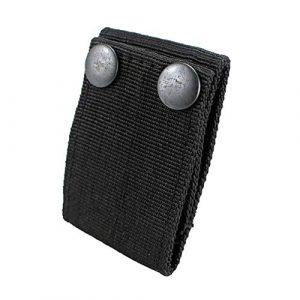 "JINJULI  1 JINJULI Handcuff Case Nylon Hand Cuff Strap Holder Safety Snap Closure 2.25"" Duty Belts"