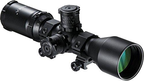 BARSKA Rifle Scope 1 BARSKA AC11874 Contour .223 BDC Rifle Scope 3-9x40 Lockable Turrets, Mil-Dot Reticle with Rings