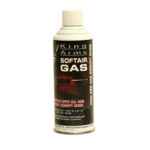 Velocity Airsoft Green Gas 1 King Arms Platinum 8oz. Green Gas Can for Green Gas Airsoft Guns
