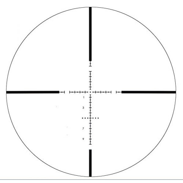 Vector Optics Rifle Scope 5 Vector Optics Marksman 4.5-18x50mm 1/10 MIL Hunting Riflescope with MP Reticle, Free 30mm Tactical Mount Rings, Lens Covers and Honeycomb Sunshade (Matte Black)
