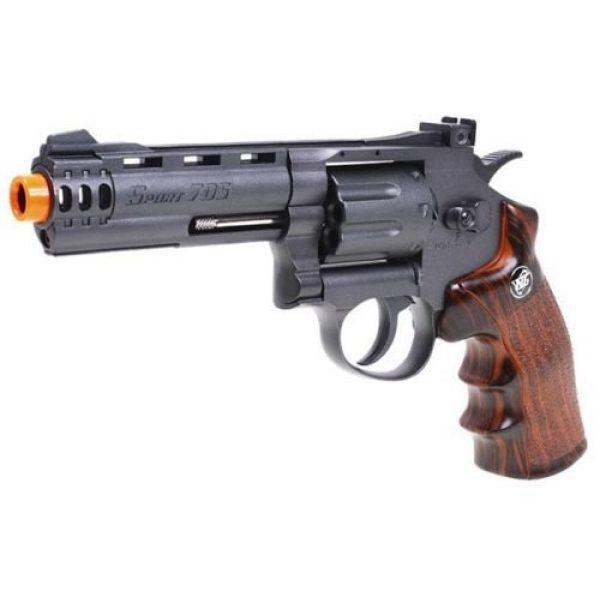WinGun Airsoft Pistol 4 WG co2 powered air soft non blowback revolver airsoft pistol 4 barrel gun(Airsoft Gun)